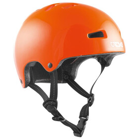 TSG Nipper Maxi Solid Color Casco Niños, gloss orange